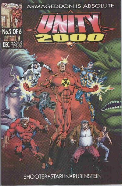 Cover for Unity 2000 (1999 series) #2