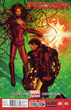 Cover Thumbnail for Iron Man (2013 series) #2 [Newsstand Edition by Greg Land]