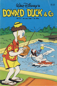 Cover Thumbnail for Donald Duck & Co (Hjemmet / Egmont, 1948 series) #31/1980