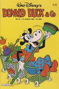 Cover Thumbnail for Donald Duck & Co (Hjemmet, 1948 series) #33/1980