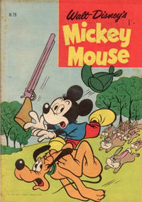 Cover Thumbnail for Walt Disney's Mickey Mouse (W. G. Publications; Wogan Publications, 1956 series) #79