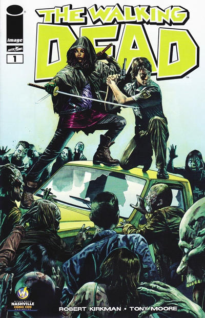 Cover for The Walking Dead (Image, 2003 series) #1 [Wizard World Philadelphia Comic Con Exclusive by Julian Totino Tedesco]