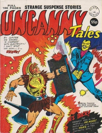 Cover for Uncanny Tales (Alan Class, 1963 series) #179