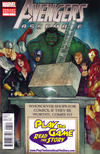 Cover Thumbnail for Avengers Assemble (2012 series) #1 [Play The Game Read The Story Variant Cover]