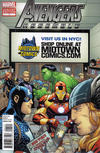 Cover Thumbnail for Avengers Assemble (2012 series) #1 [Alternate Midtown Comics Exclusive Variant]