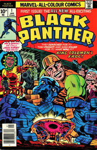 Cover Thumbnail for Black Panther (Marvel, 1977 series) #1 [British Price Variant]