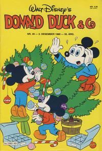 Cover Thumbnail for Donald Duck & Co (Hjemmet, 1948 series) #49/1980