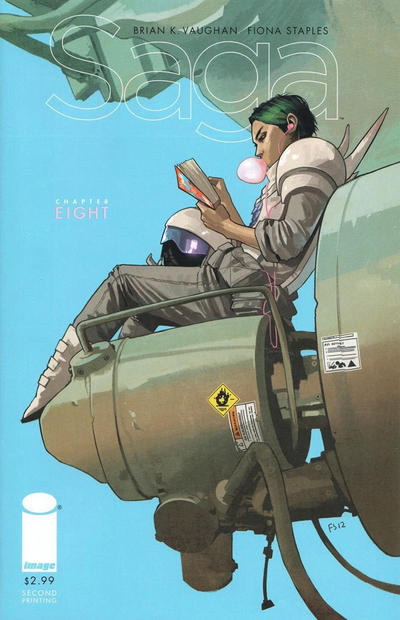Cover for Saga (Image, 2012 series) #8
