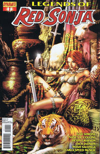 Cover Thumbnail for Legends of Red Sonja (Dynamite Entertainment, 2013 series) #1