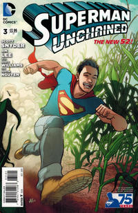 Cover Thumbnail for Superman Unchained (DC, 2013 series) #3 [Aaron Kuder New 52 Variant Cover]