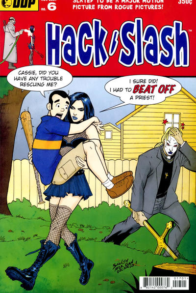 Cover for Hack/Slash: The Series (Devil's Due Publishing, 2007 series) #6 [Cover A Tim Seeley]