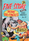 Cover for Five-Score Plus Comic Monthly (K. G. Murray, 1960 series) #25