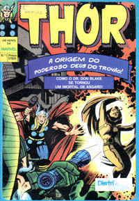 Cover Thumbnail for Thor (Distri Editora, 1983 series) #1