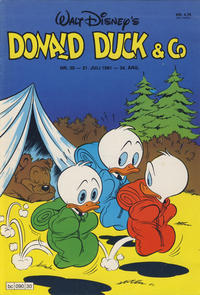 Cover Thumbnail for Donald Duck & Co (Hjemmet, 1948 series) #30/1981