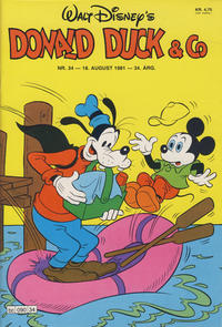 Cover Thumbnail for Donald Duck & Co (Hjemmet, 1948 series) #34/1981