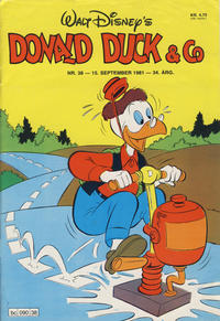 Cover Thumbnail for Donald Duck & Co (Hjemmet, 1948 series) #38/1981