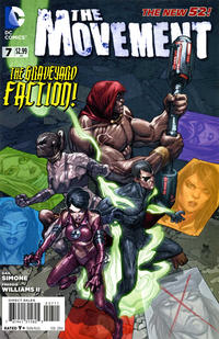 Cover Thumbnail for The Movement (DC, 2013 series) #7