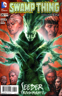 Cover Thumbnail for Swamp Thing (DC, 2011 series) #26