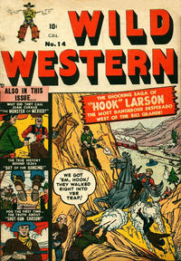 Cover Thumbnail for Wild Western (Bell Features, 1948 series) #14
