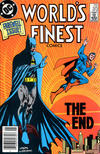 Cover Thumbnail for World's Finest Comics (1941 series) #323 [Newsstand Edition]