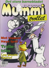 Cover Thumbnail for Mummitrollet (Semic, 1993 series) #11/1993