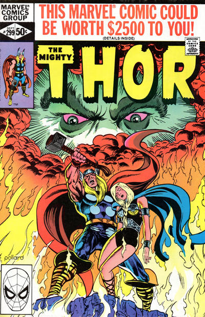 Cover for Thor (Marvel, 1966 series) #299 [Newsstand Edition]