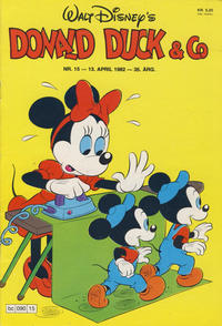 Cover Thumbnail for Donald Duck & Co (Hjemmet, 1948 series) #15/1982