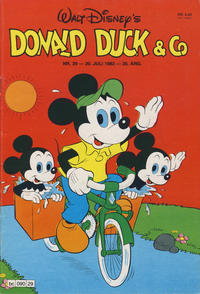 Cover Thumbnail for Donald Duck & Co (Hjemmet, 1948 series) #29/1982