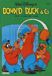 Cover Thumbnail for Donald Duck & Co (Hjemmet, 1948 series) #33/1982