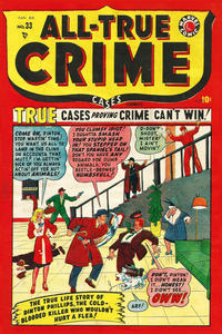 Cover Thumbnail for All True Crime Cases Comics (Bell Features, 1948 series) #33