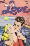 Cover for All Love (Ace International, 1949 series) #27