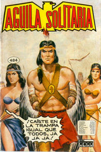 Cover Thumbnail for Aguila Solitaria (Editora Cinco, 1976 ? series) #484