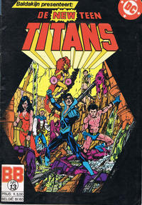 Cover Thumbnail for De New Teen Titans (JuniorPress, 1985 series) #13