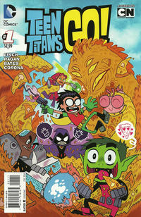 Cover Thumbnail for Teen Titans Go! (DC, 2014 series) #1