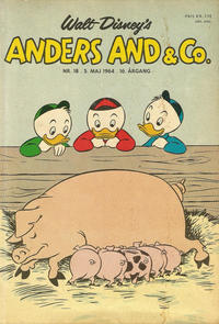 Cover Thumbnail for Anders And & Co. (Egmont, 1949 series) #18/1964