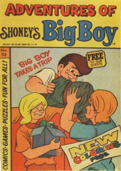 Cover for Adventures of Big Boy (Paragon Products, 1976 series) #53