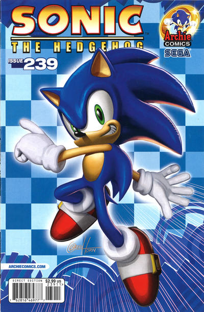 Cover for Sonic the Hedgehog (Archie, 1993 series) #239