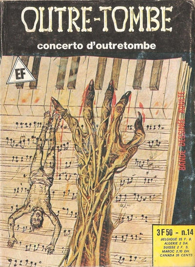 Cover for Outre-Tombe (2° Série) (Elvifrance, 1978 series) #14