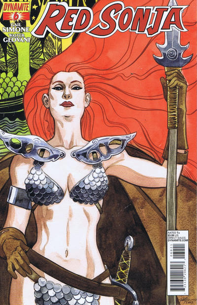 Cover for Red Sonja (Dynamite Entertainment, 2013 series) #6