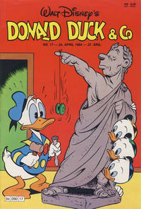 Cover Thumbnail for Donald Duck & Co (Hjemmet, 1948 series) #17/1984