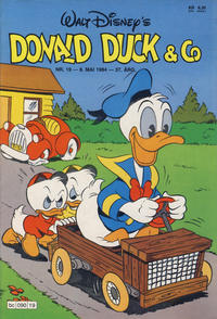 Cover Thumbnail for Donald Duck & Co (Hjemmet, 1948 series) #19/1984