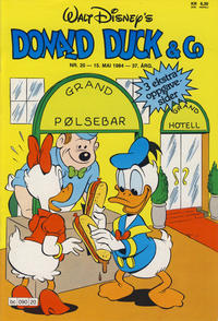 Cover Thumbnail for Donald Duck & Co (Hjemmet, 1948 series) #20/1984