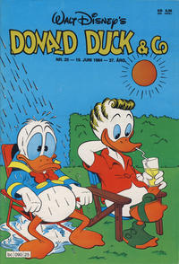 Cover Thumbnail for Donald Duck & Co (Hjemmet, 1948 series) #25/1984