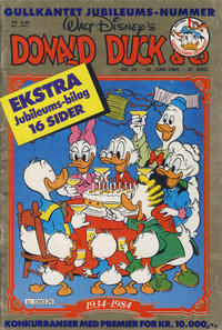 Cover Thumbnail for Donald Duck & Co (Hjemmet, 1948 series) #26/1984
