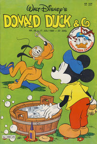 Cover Thumbnail for Donald Duck & Co (Hjemmet, 1948 series) #29/1984