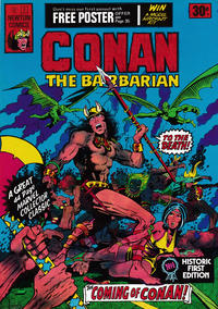 Cover Thumbnail for Conan the Barbarian (Newton Comics, 1975 series) #1