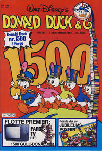 Cover Thumbnail for Donald Duck & Co (Hjemmet, 1948 series) #36/1984