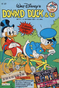 Cover Thumbnail for Donald Duck & Co (Hjemmet, 1948 series) #41/1984