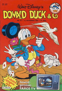 Cover Thumbnail for Donald Duck & Co (Hjemmet, 1948 series) #46/1984