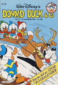 Cover Thumbnail for Donald Duck & Co (Hjemmet, 1948 series) #47/1984